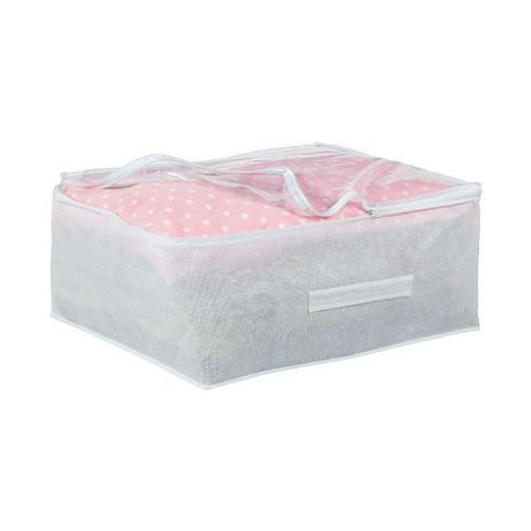 Frosted Underbed Single Duvet & Pillow Storage Cover Bag